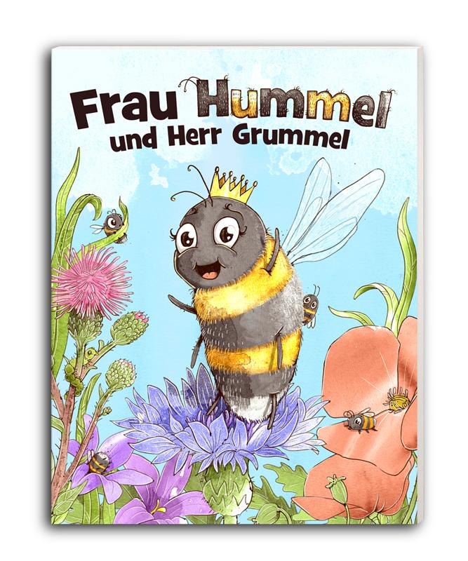 Matthias Holländer derholle Kinderbuch Frau Hummel und Herr Grummel
