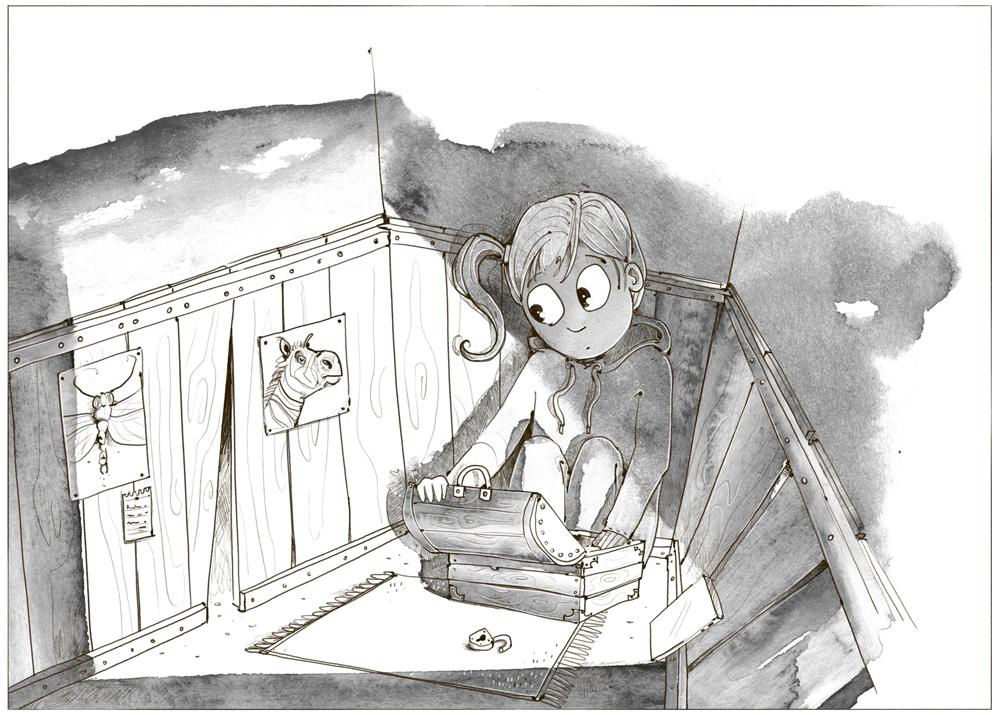 JugendbuchIllustration: NoMonster