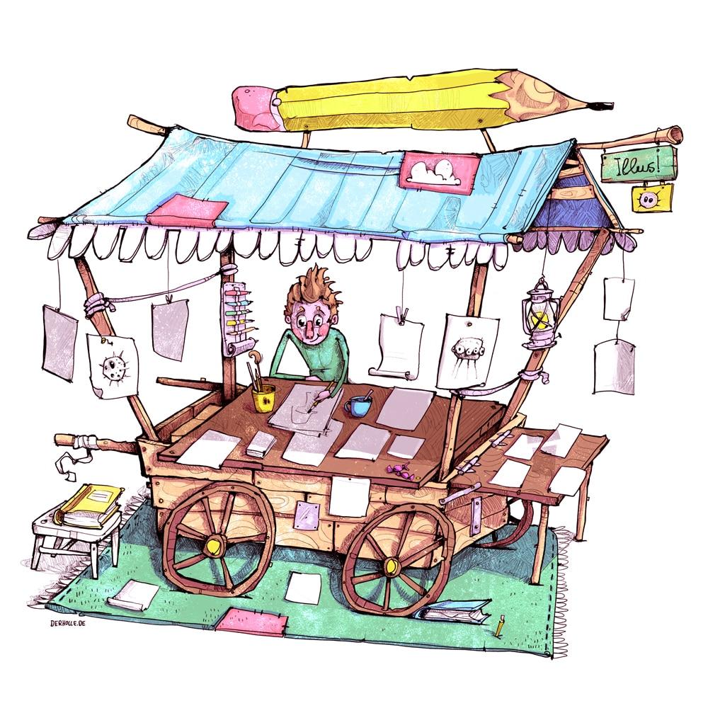 Kinderbuchillustration