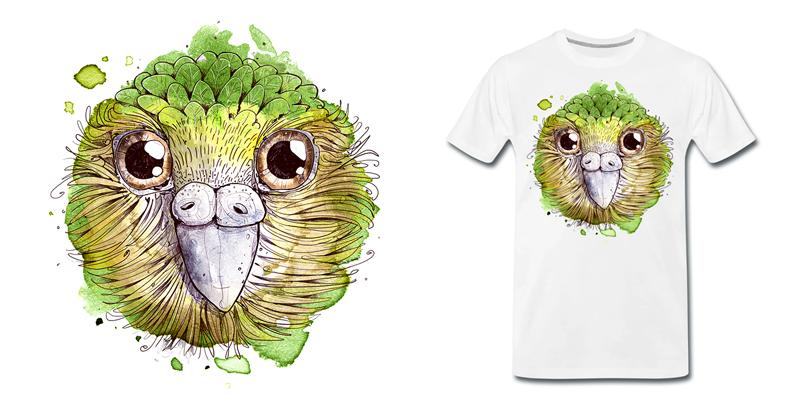 Kakapo Vogel