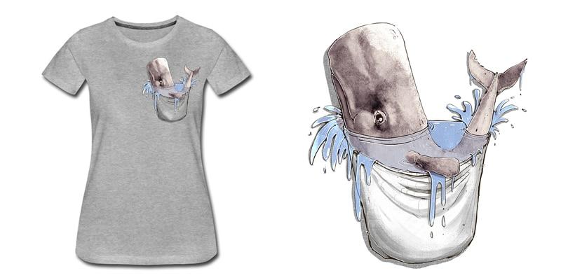 pottwal-t-shirt